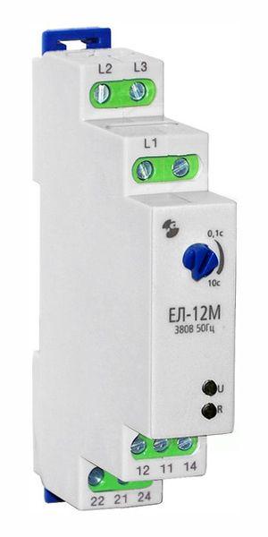 Купить Реле контроля 3-фаз. напряжения ЕЛ-12М 380В АС, Реле и Автоматика