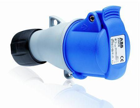 Купить Розетка силовая переносная 2P+E 16A IP44 ABB