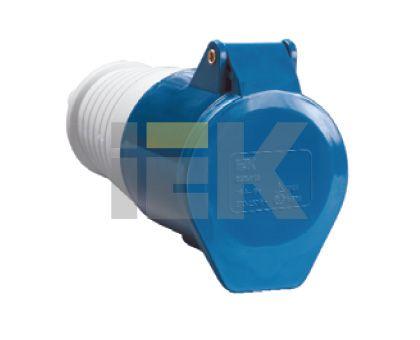 Купить Розетка силовая переносная 2P+E 32A IP44 223 IEK, IEK (ИЭК)