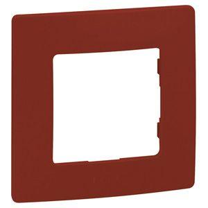 Купить Рамка 1-пост красная Etika Legrand