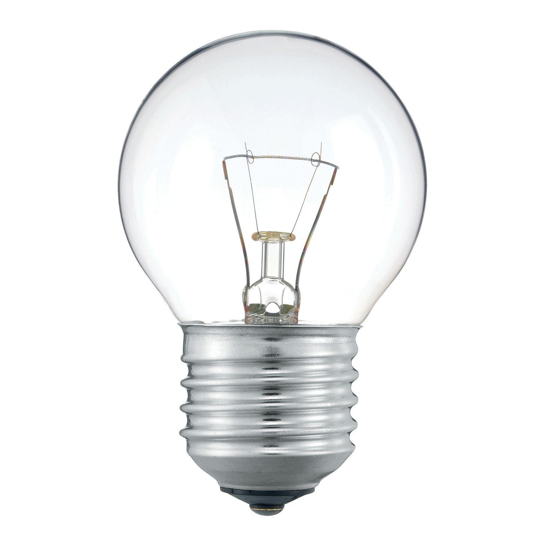Купить Лампа накаливания Philips Stan 40W E27 230V P45 CL 1CT/10X10F прозрачная