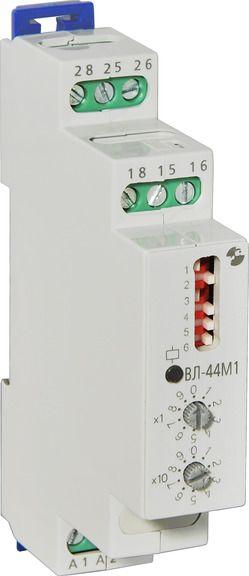 Купить Реле времени ВЛ-44М1 (многофункциональное) 5 диапазонов, 2 перекл. к., 1м., 24.., Реле и Автоматика