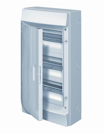 Купить Бокс настенный IP65 36М Mistral непрозрачная дверь (3х12) 320x600x155 ABB