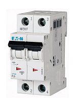 Купить Автоматический выключатель 63А, хар. С, 2-пол., 6 кА PL6 (6 кА), PL7 (10kA), PLH, EATON