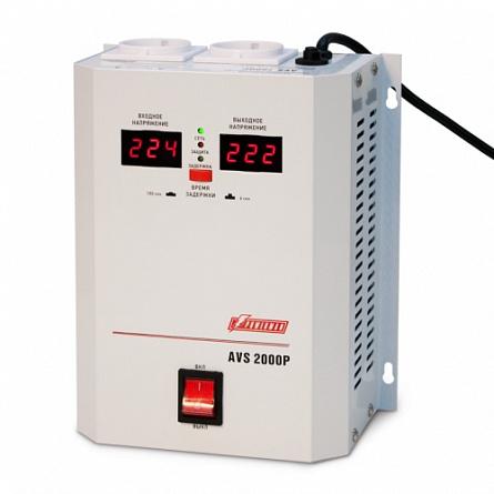 Купить Стабилизатор напряжения Powerman 2000 Вт PWM AVS 2000P, Powerman & Co