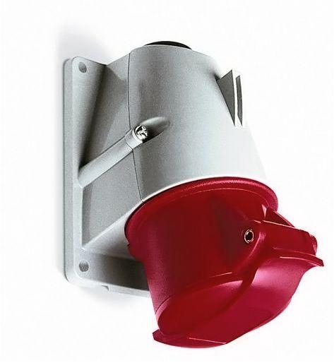 Купить Розетка для монтажа на поверхность 3P+E 16A IP44 ABB силовая стационарная