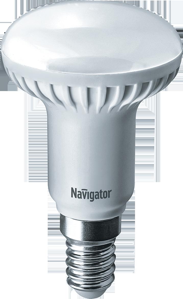 Купить Лампа светодиодная Navigator NLL-R50-5-230-4.2K-E14/94136 5Вт 230В холодный-белы
