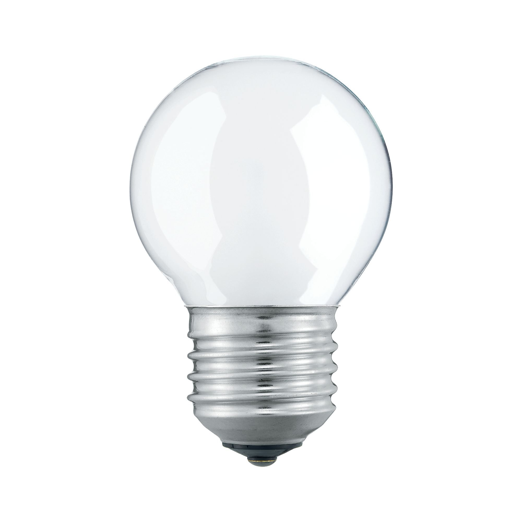 Купить Лампа накаливания Philips Stan 25W E27 230V P45 FR 1CT/10X10F матовая