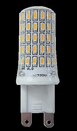 Купить Лампа светодиодная Jazzway PLED-G9 7w 4000K 400Lm 220V/50Hz капсула холодный-б