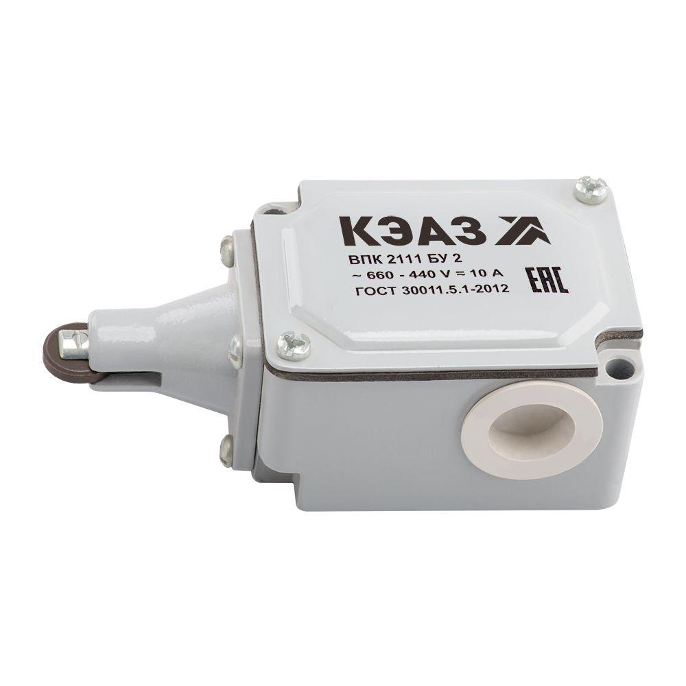 Купить Выключатель путевой ВПК-2111Б-У2-КЭАЗ Серия ВП, ВПКДатчики и концевые выключател, КЭАЗ (Курский электроаппаратный завод)