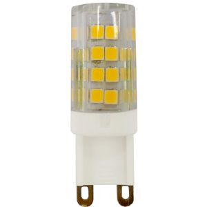 Купить Лампа светодиодная Эра LED smd JCD-3, 5w-220V-corn, ceramics G9 капсула холодны, ЭРА (Энергия света)
