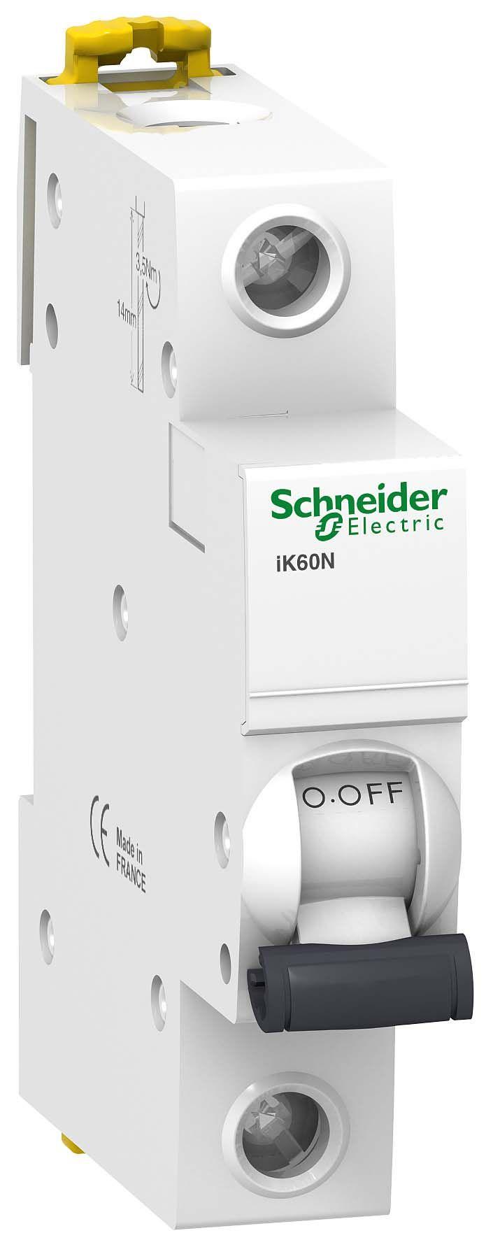 Выключатель автоматический 1-пол. 25A с 6кА iK60N Schneider Electric iC60N, iK60  - Купить