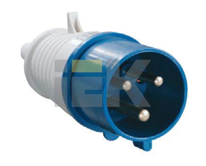 Купить Вилка силовая переносная 2P+E 32A IP44 023 IEK, IEK (ИЭК)