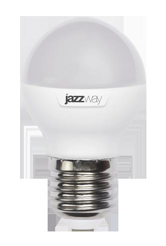Купить Лампа светодиодная Jazzway PLED- SP G45 9w E27 3000K 820 Lm 2 теплый-белый, мато